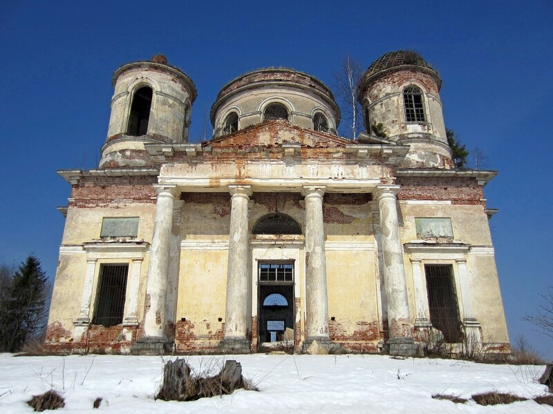 Троицкая церковь на Погосте Баранья (Бранья) Гора (Тверская область)