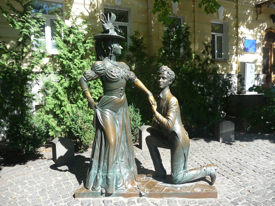 Памятник «За двумя зайцами» (Киев)