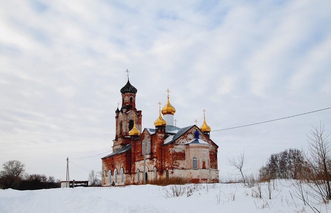 Церковь Иоанна Предтечи (Крестовское) (Шадринск)