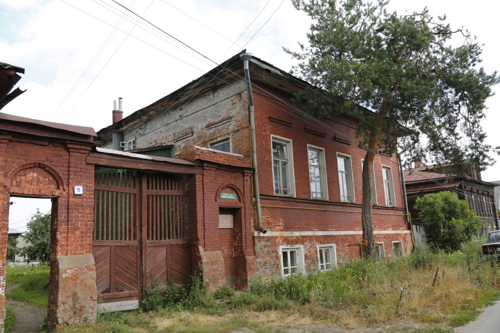 Бывшая усадьба поэта К. Д. Бальмонта (Шуя)