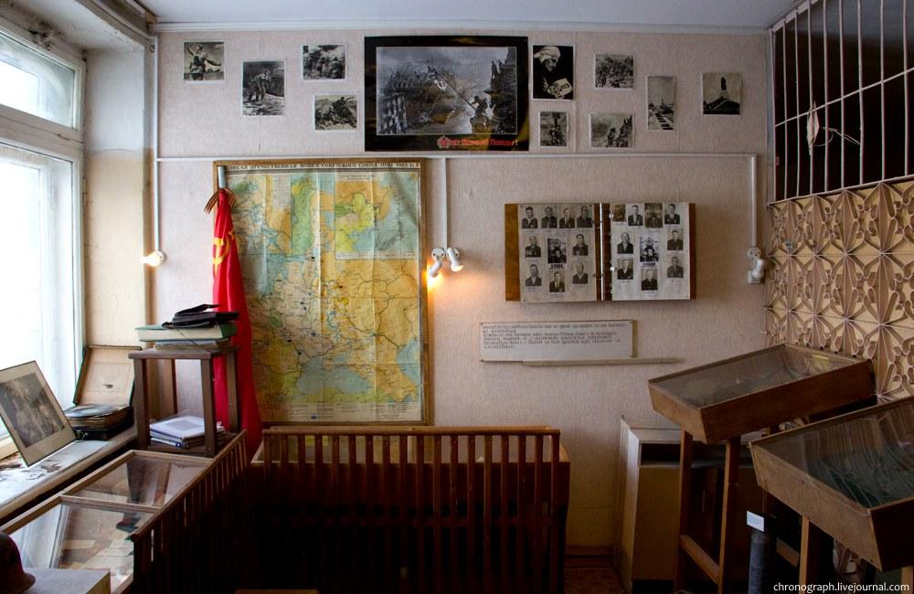 Школьный музей села Серебряное (Омская область)