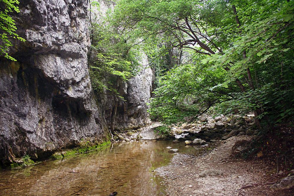Большой каньон Крыма (Бахчисарай)