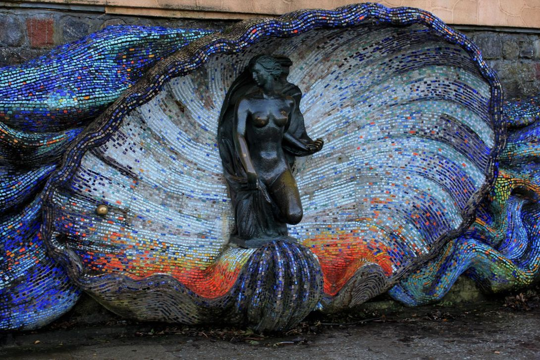Скульптура «Нимфа» (Светлогорск)