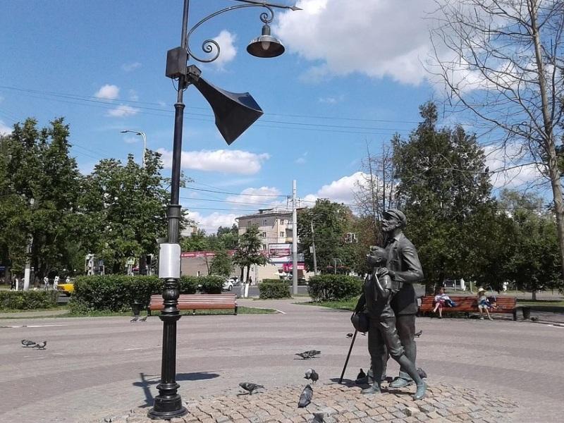 Памятник Юрию Левитану (Владимир)
