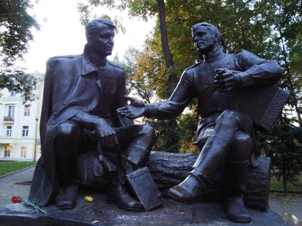 Памятник Василию Тёркину (Сатка)