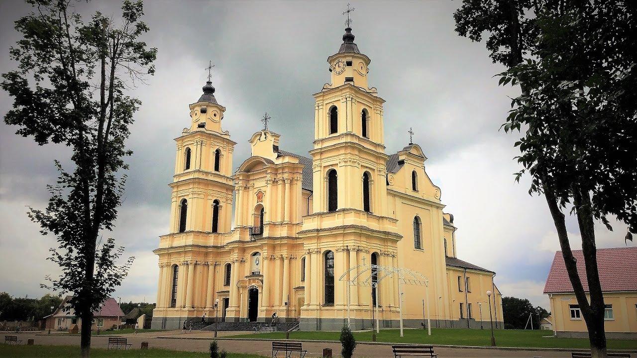 Бернардинский костёл Девы Марии в Будславе (Мядель)