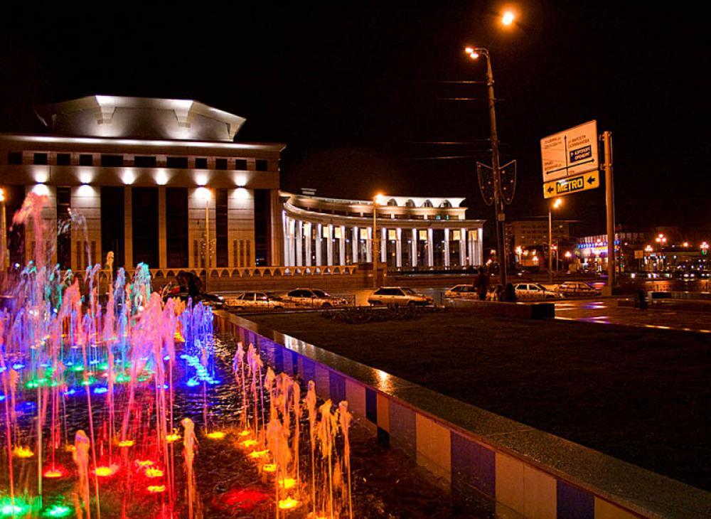 Каскад фонтанов (Казань)