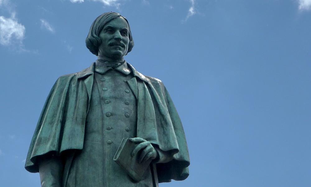 Памятник Гоголю на Гоголевском бульваре (Москва)