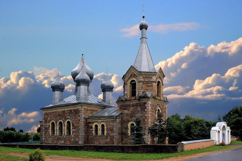 Церковь Николая Чудотворца (Старые Габы) (Мядель)