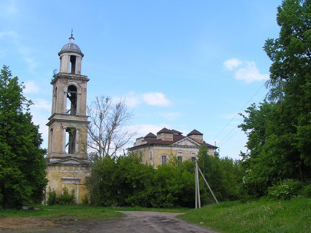 Церковь Преображения Господня (Никольская) (Старица)
