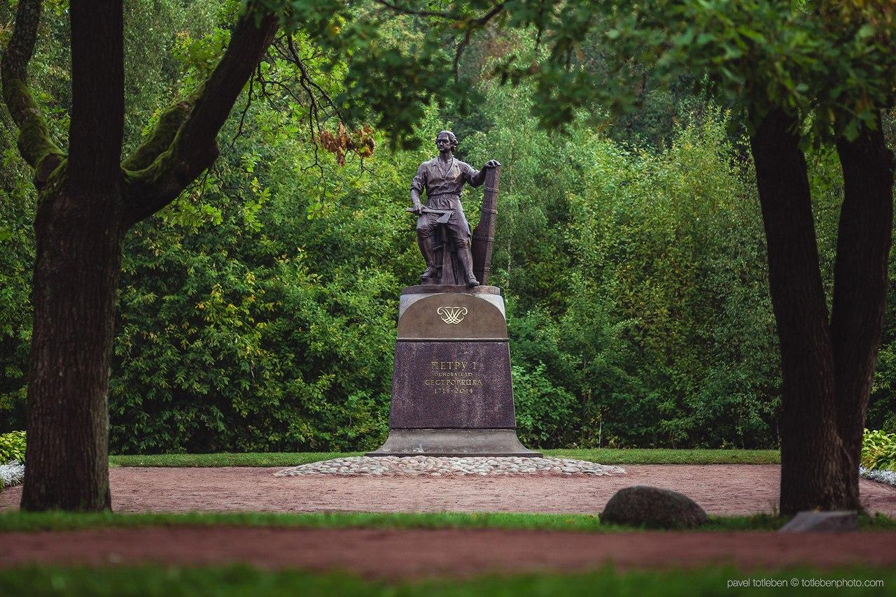 Памятник Петру I (Сестрорецк)