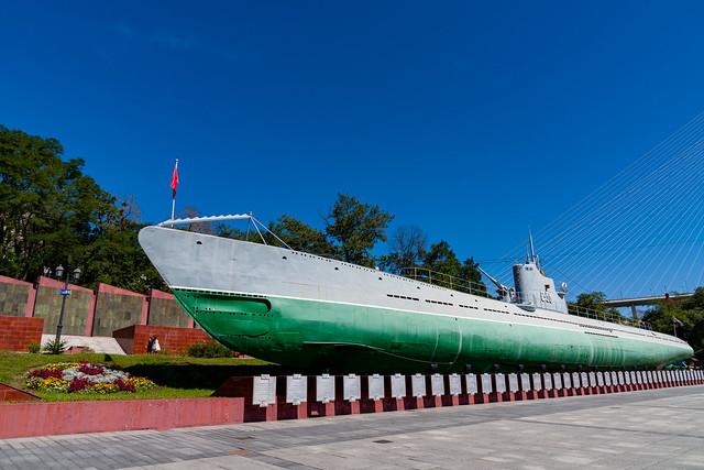 Подводная лодка-музей С-56 (Владивосток)