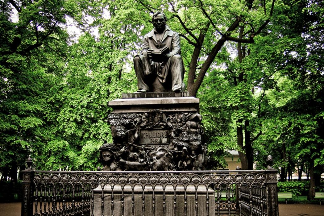 Памятник Крылову в Летнем саду (Санкт-Петербург)