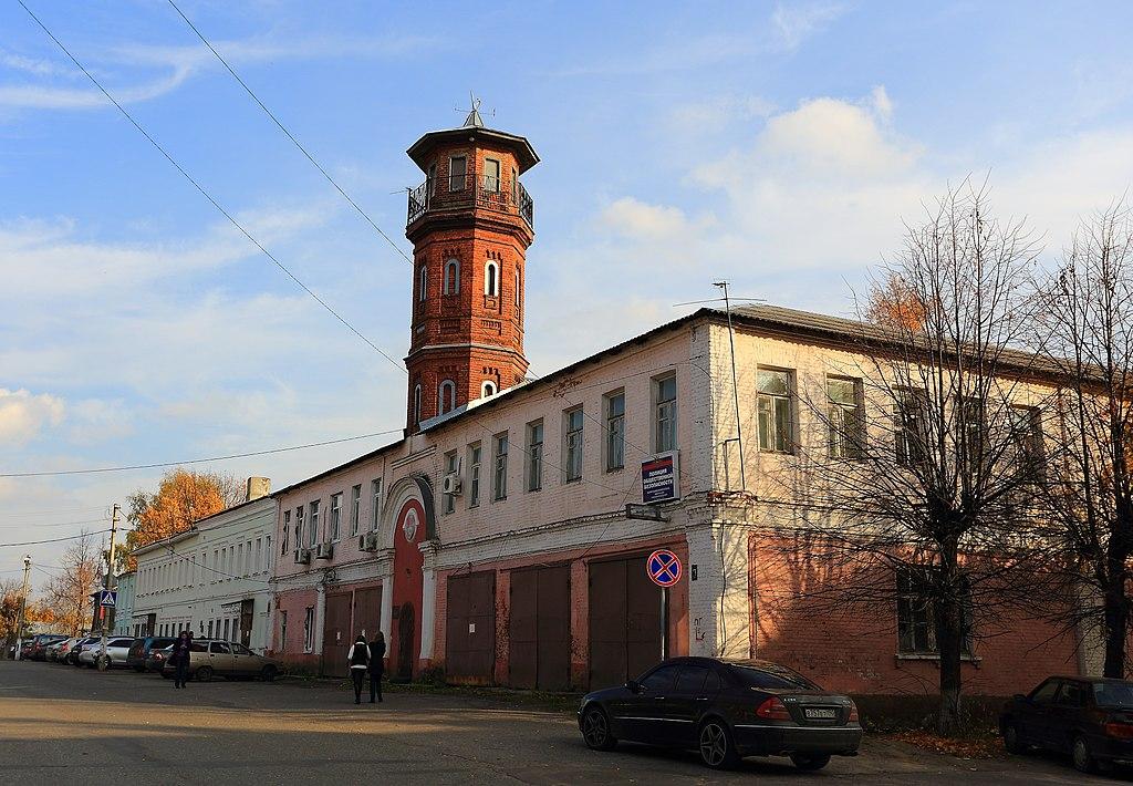 Пожарное депо с каланчой (Павловский Посад)
