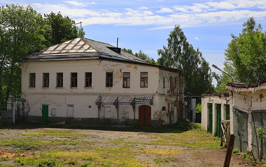 Ансамбль усадьбы фабриканта Лужнова (Суздаль)