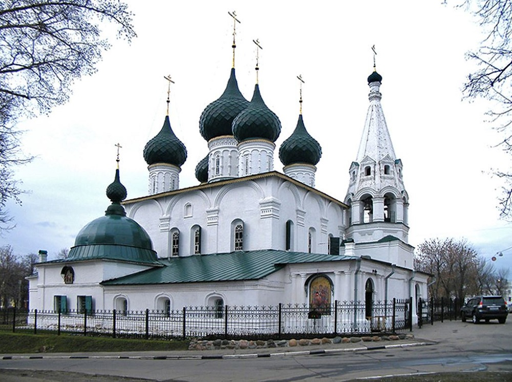 Церковь Николы Надеина (Чудотворца) (Ярославль)