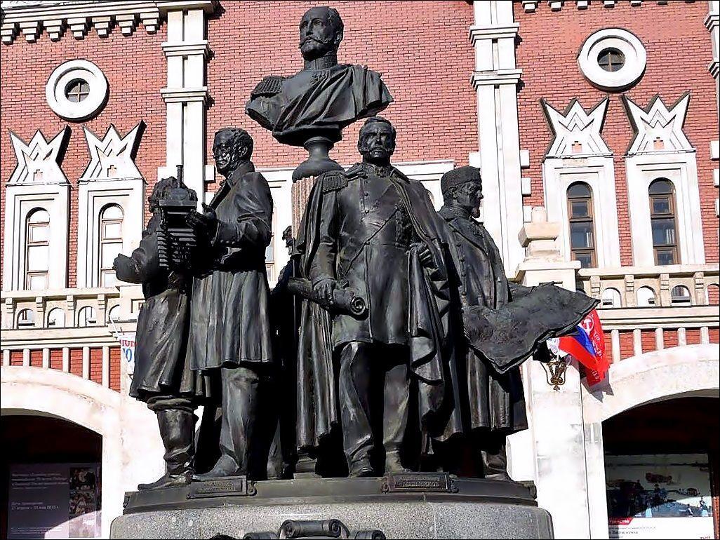 Памятник создателям российских железных дорог (Москва)