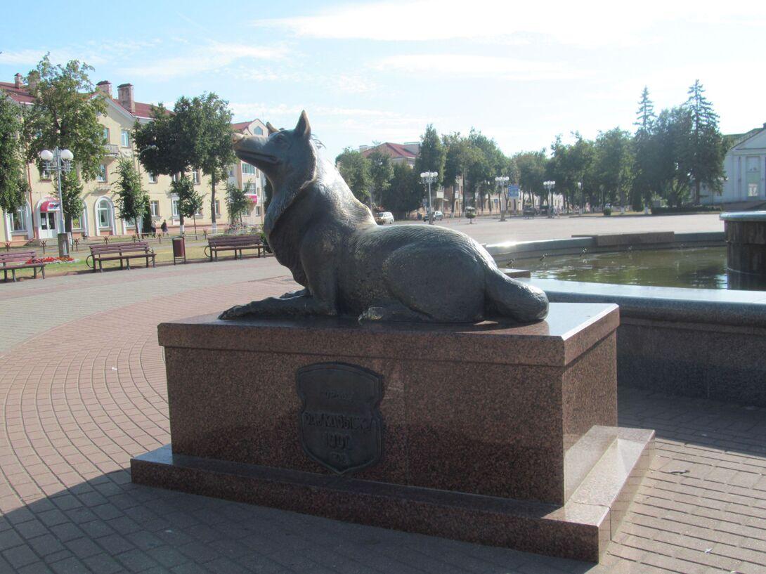 Памятник 1000-летия города Волковыск (Волковыск)