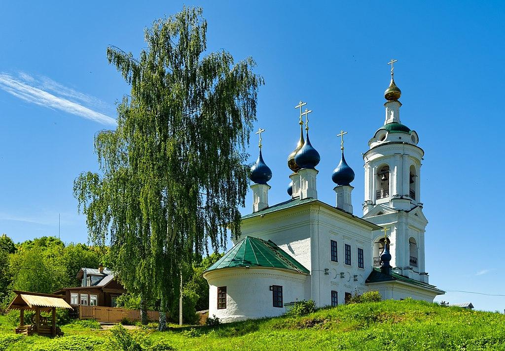 Церковь Святой Варвары (Плёс)