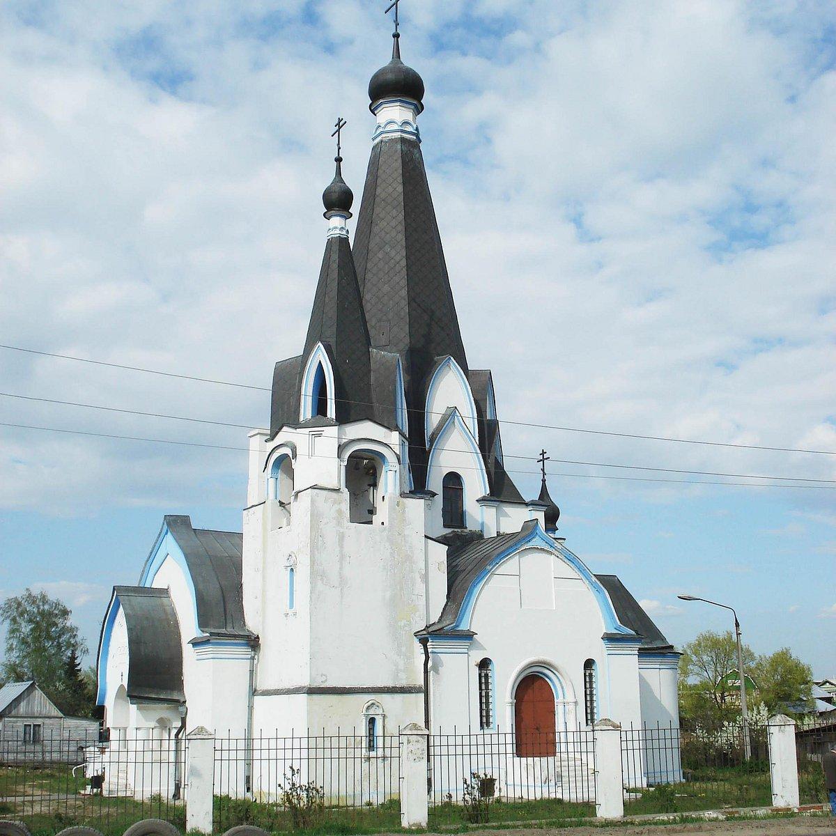 Церковь Георгия Победоносца в Новохаритоново (Гжель)