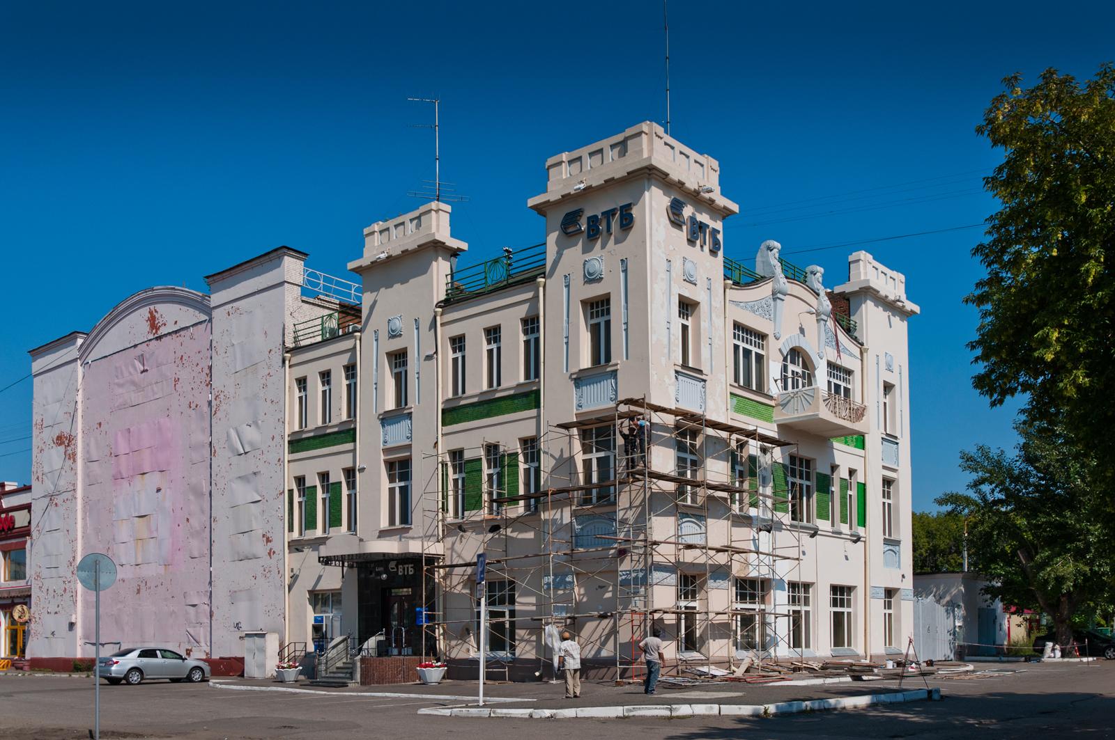 Дом акционерного общества «Эльворти» (Омск)