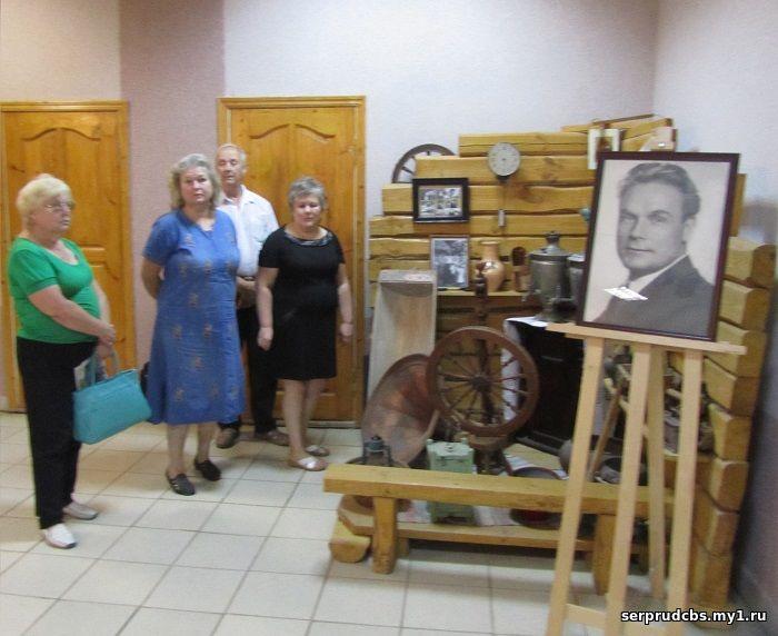 Музейная комната Столярова вКЦ «Наследие» (Серебряные Пруды)