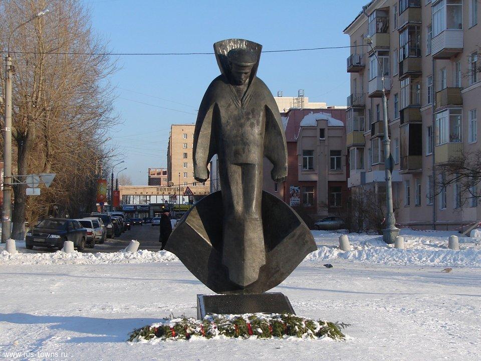 Памятник соловецким юнгам (Архангельск)
