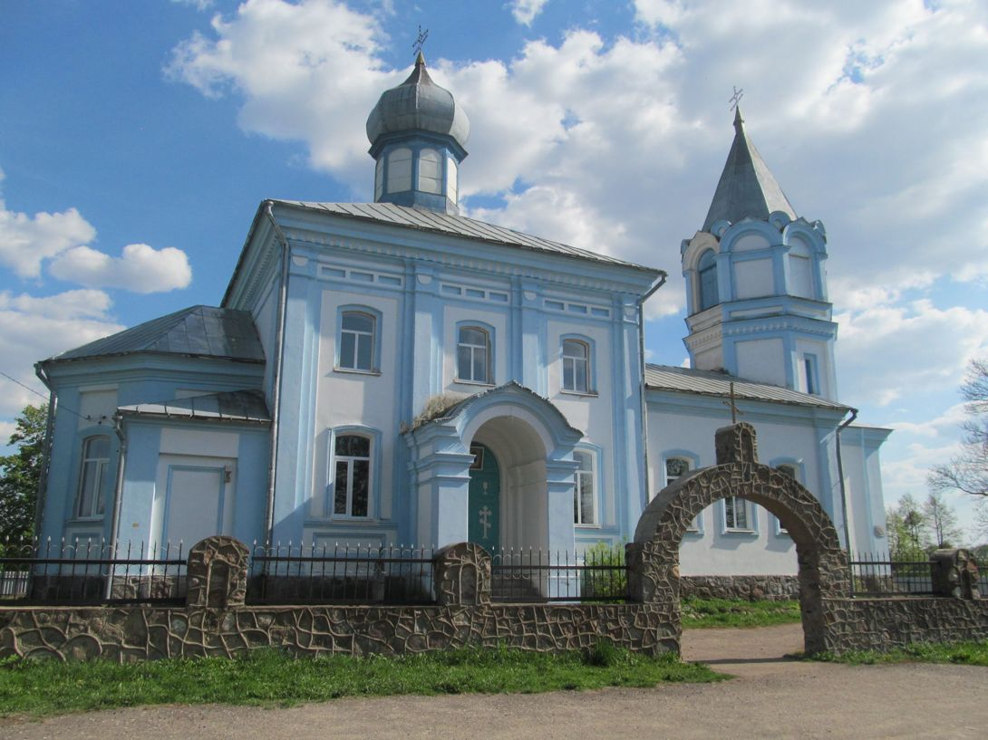 Церковь Николая Чудотворца (Калиновая) (Витебская область)