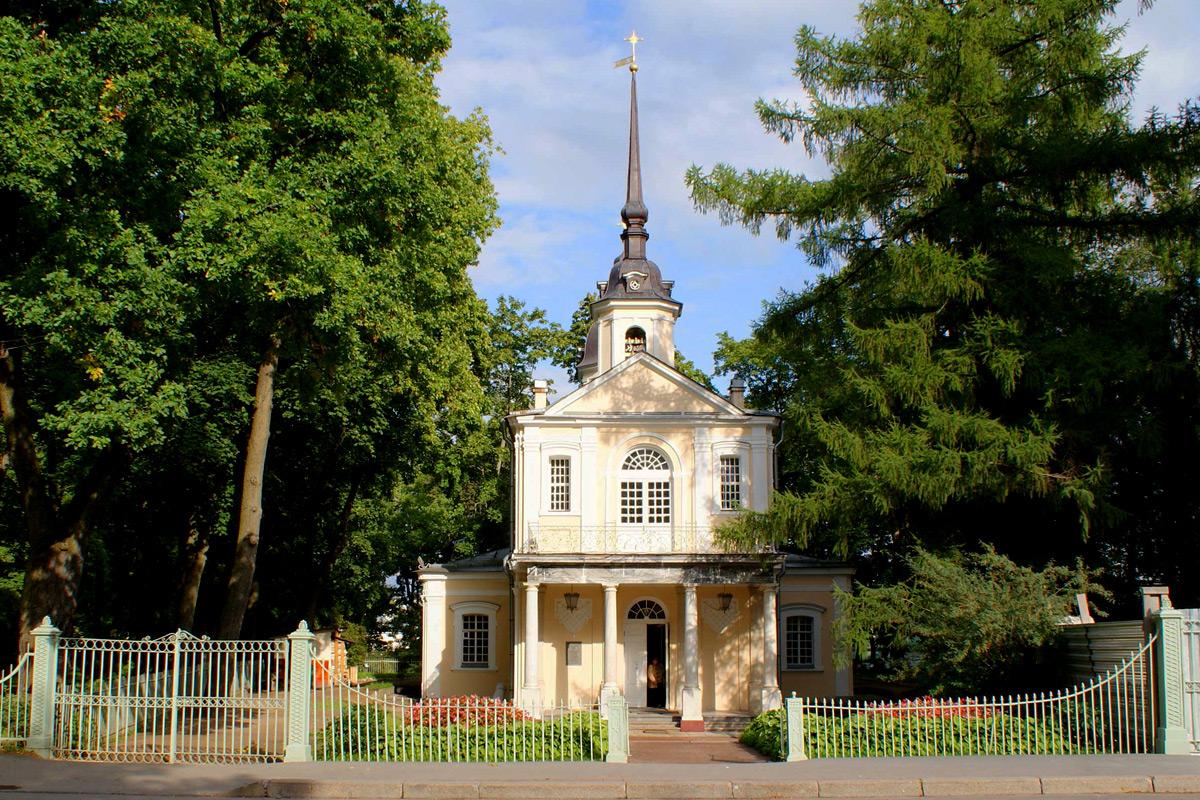Знаменская церковь (Пушкин)