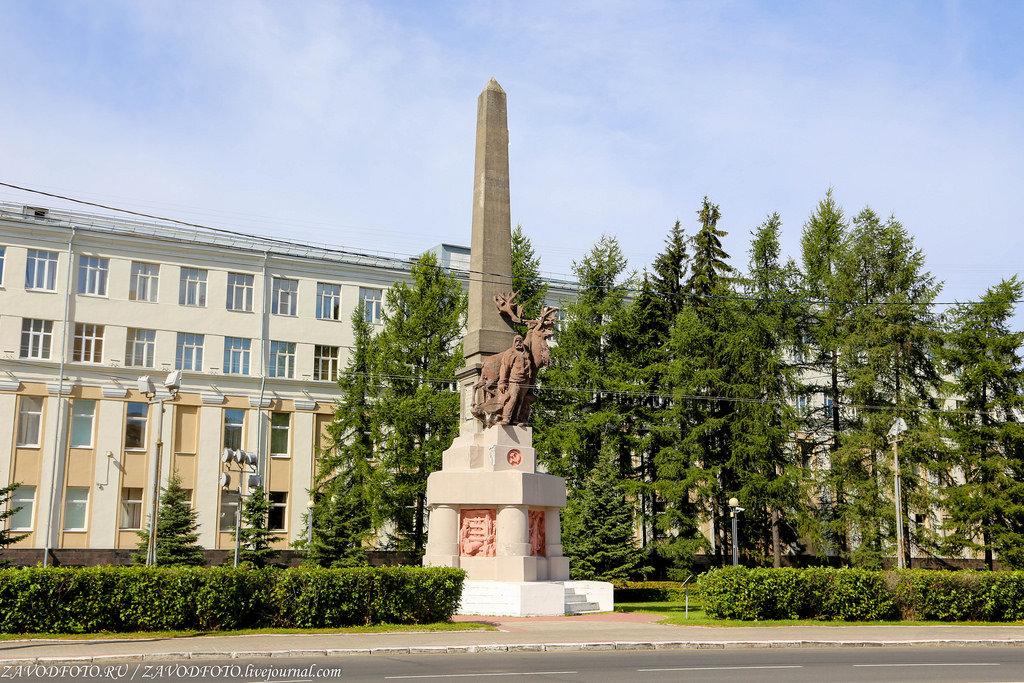 Памятник участникам гражданской войны (Котлас)