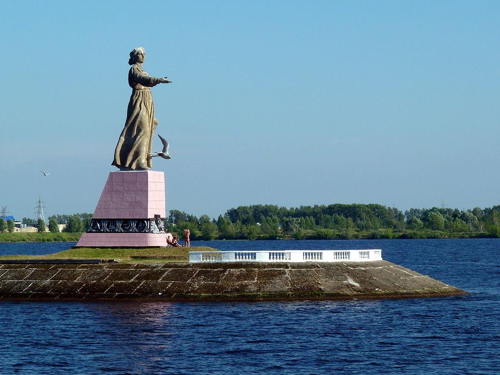 Монумент Мать-Волга (Рыбинск)