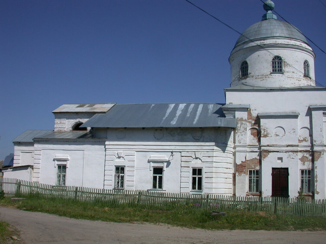 Введенская церковь (Чекалин)