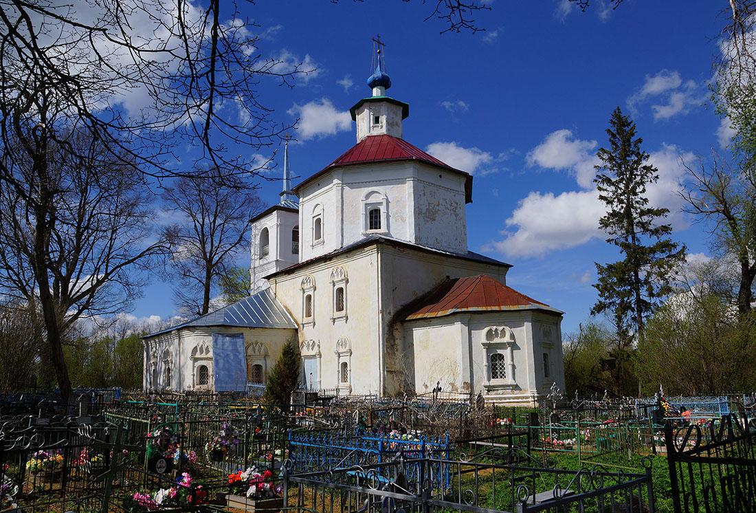 Церковь Покрова Богородицы (Остров)
